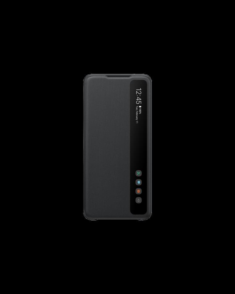 Samsung Galaxy S20 Ultra mustad kaaned