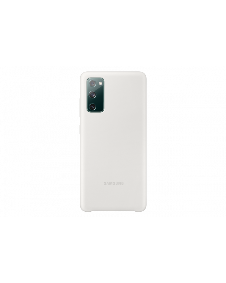 Samsung Galaxy S20 FE valge silikoonist telefonikate