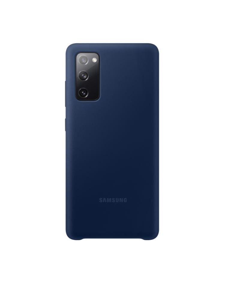 Samsung Galaxy S20 FE silikoonist tumesinine telefoniümbris