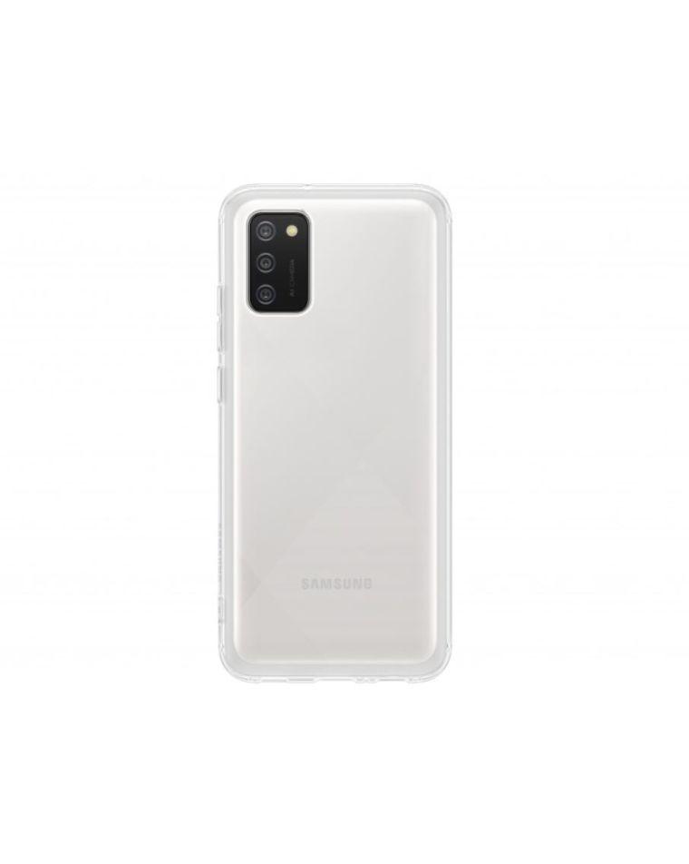 Samsung Galaxy A02S läbipaistev telefoniümbris