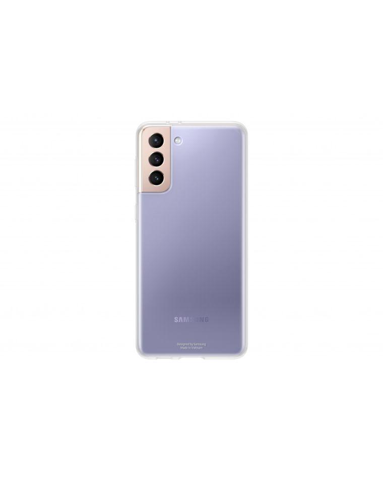Samsung Galaxy S21+ läbipaistev telefoniümbris