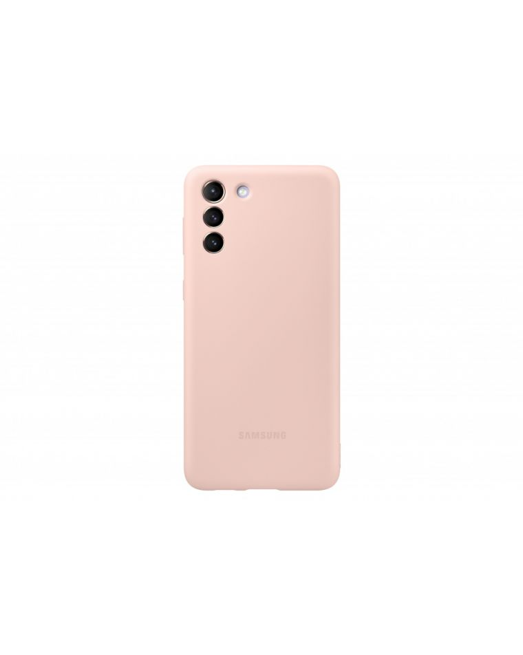 Samsung Galaxy S21+ silikoonist roosa telefoniümbris