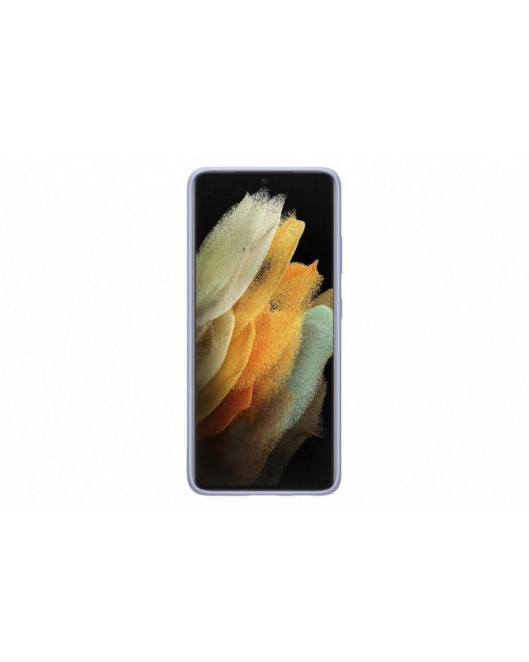 Samsung Galaxy S21 Ultra silikoonist lilla telefoniümbris