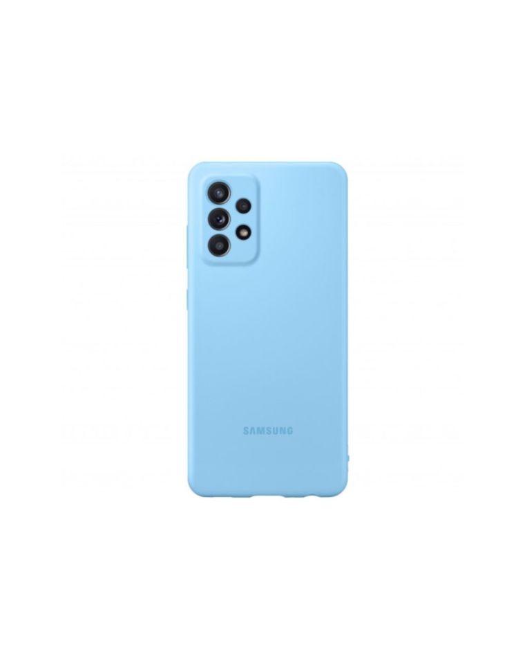 Samsung Galaxy A52 silikoonist sinine telefoniümbris