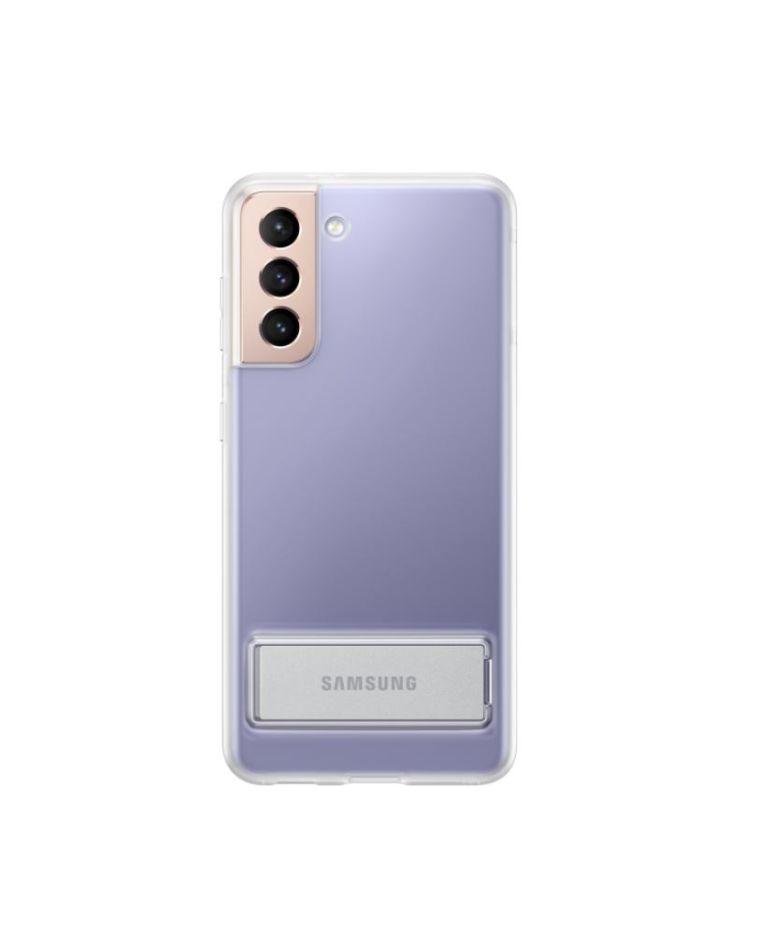Samsung Galaxy S21 läbipaistev telefoniümbris