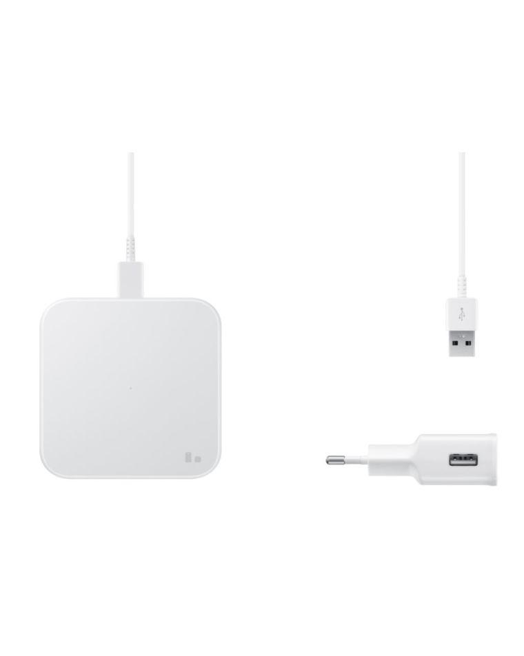 Беспроводное зарядное устройство Samsung белого цвета