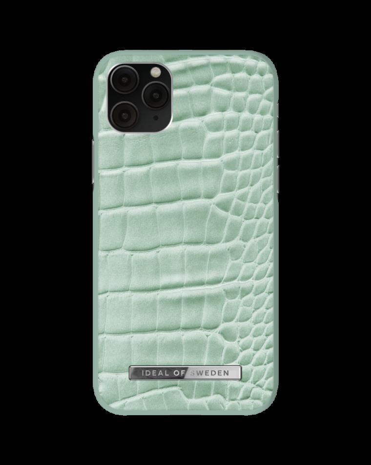iDeal of Sweden telefoniümbris iPhone 11 Pro/X/Xs Mint Croco