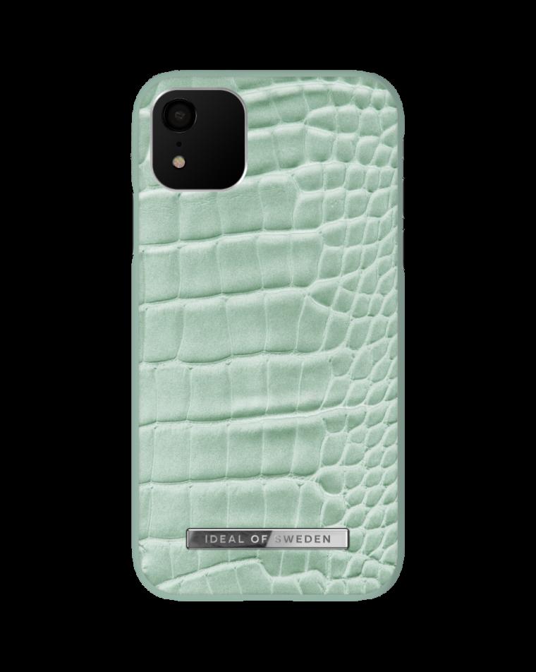 iDeal of Sweden telefoniümbris iPhone 11/Xr Mint Croco