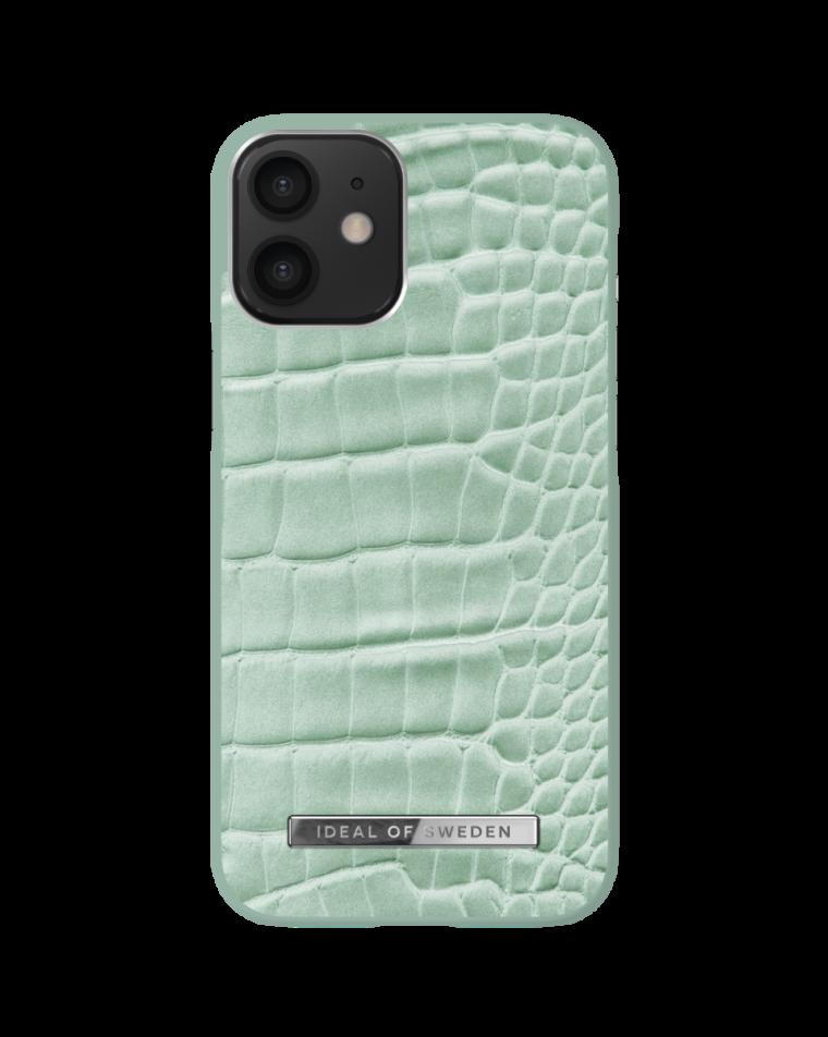 iDeal of Sweden telefoniümbris iPhone 12 Mini Mint Croco
