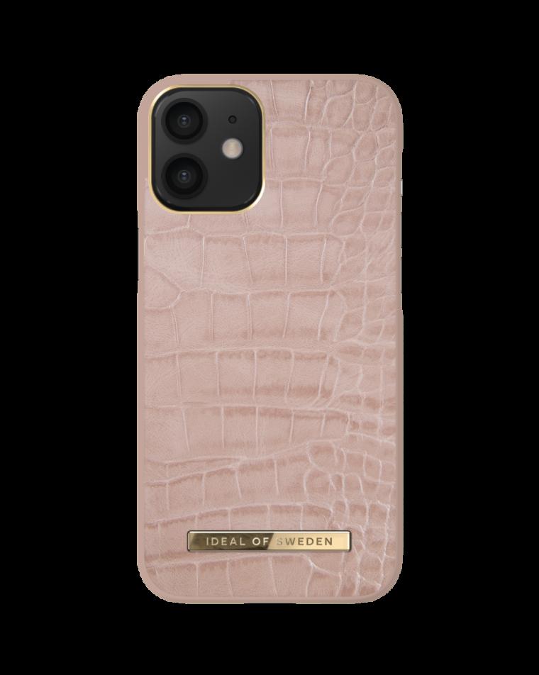 iDeal of Sweden telefoniümbris iPhone 12 Mini Rose Croco