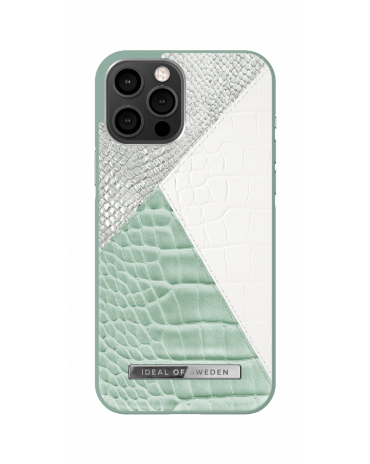 iDeal of Sweden telefoniümbris iPhone 12 Pro Max Palladian Mint Snake