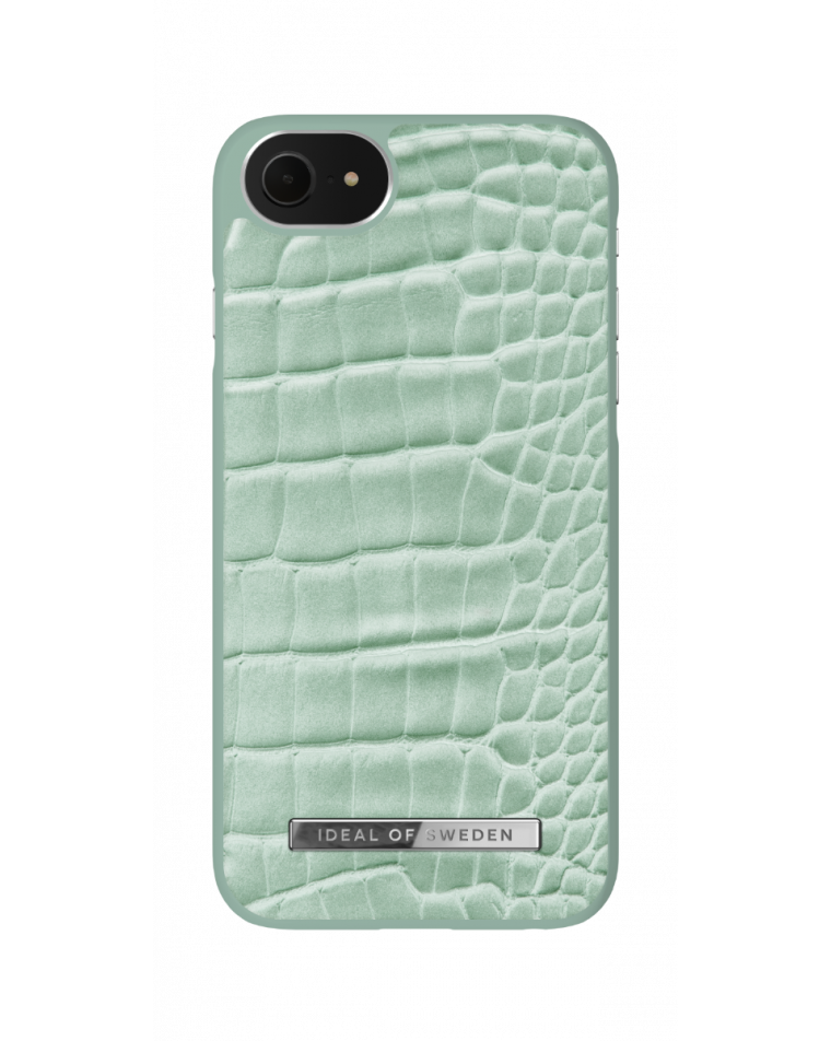 iDeal of Sweden telefoniümbris iPhone 8/7/SE (2020)  Mint Croco