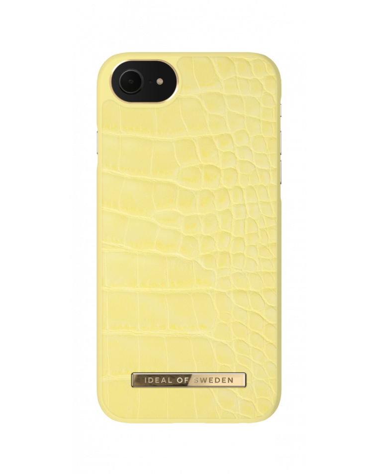 iDeal of Sweden telefoniümbris iPhone 8/7/SE (2020)  Lemon Croco