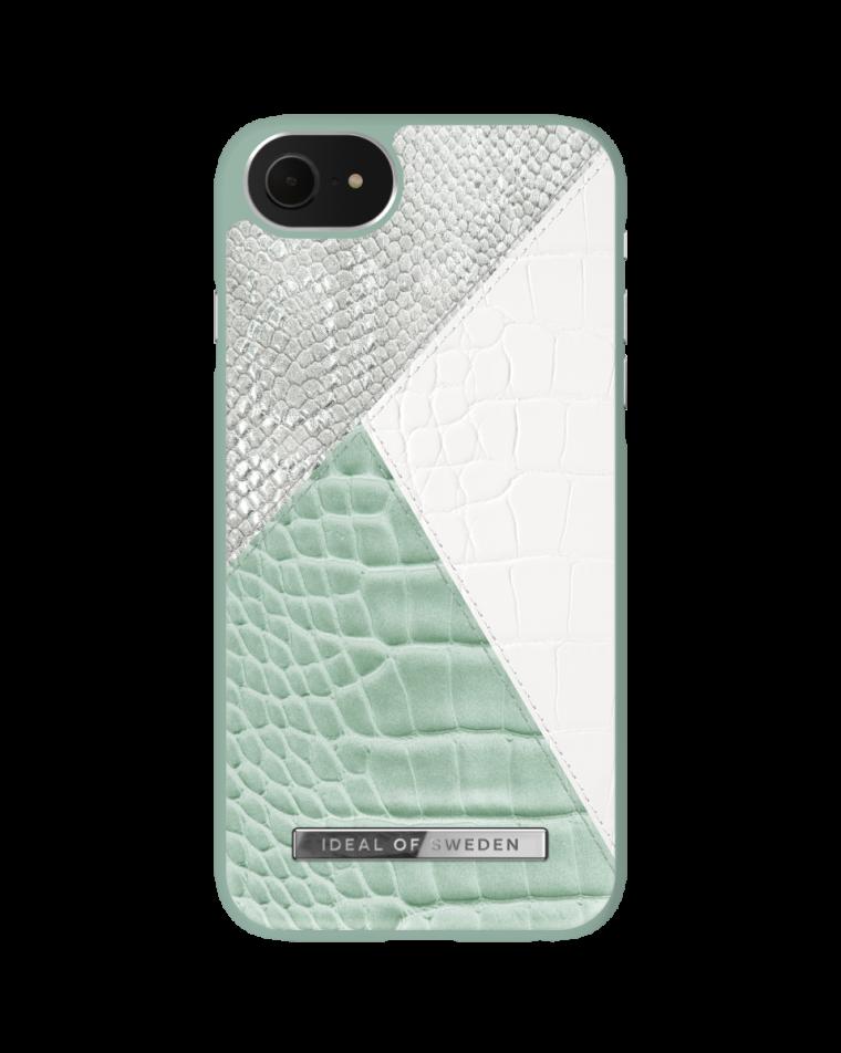 iDeal of Sweden telefoniümbris iPhone 8/7/SE (2020)  Palladian Mint Snake