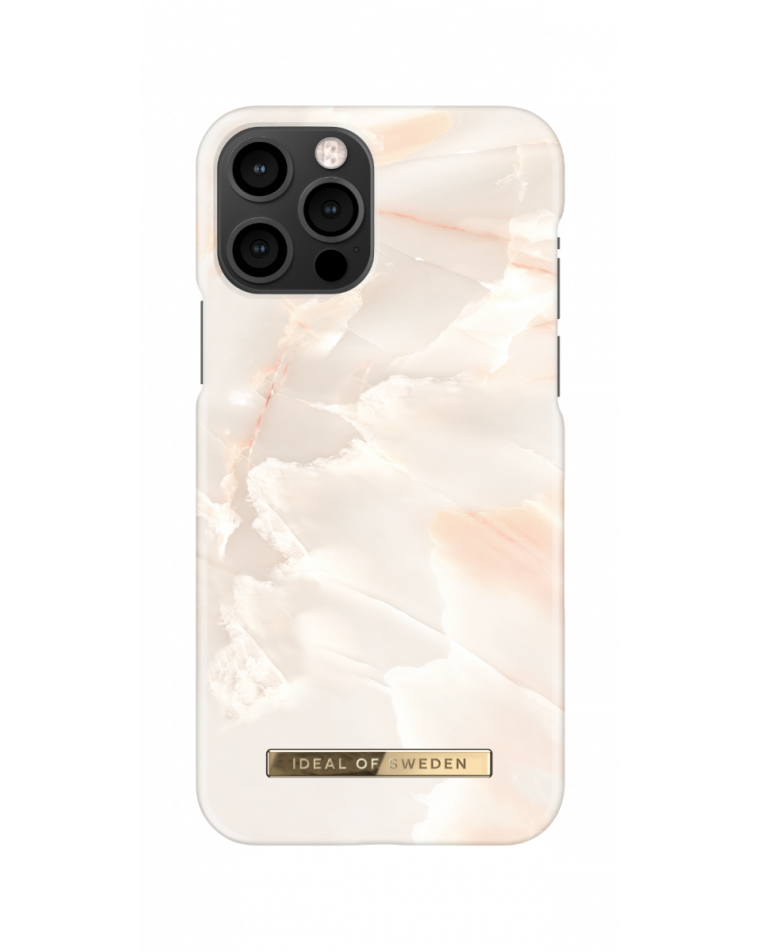 iDeal of Sweden telefoniümbris iPhone 12/12 Pro Rose Pearl Marble
