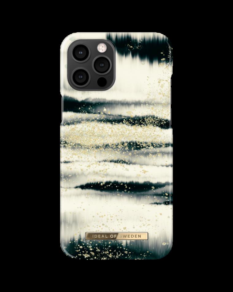 iDeal of Sweden telefoniümbris iPhone 12 Pro Max Golden Tie Dye