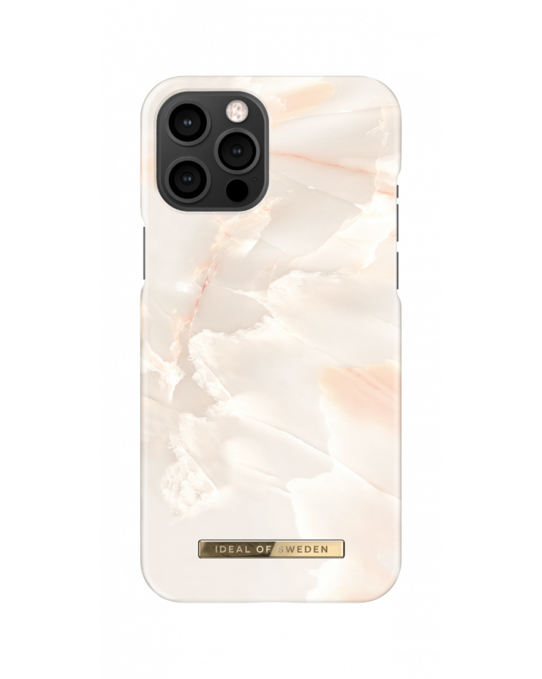 iDeal of Sweden telefoniümbris iPhone 12 Pro Max Rose Pearl Marble