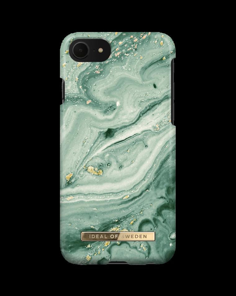 iDeal of Sweden telefoniümbris iPhone 8/7/SE (2020)  Mint Swirl Marble