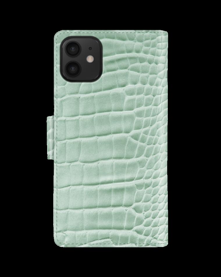 iDeal of Sweden rahakottümbris iPhone 12/12 Pro Mint Croco