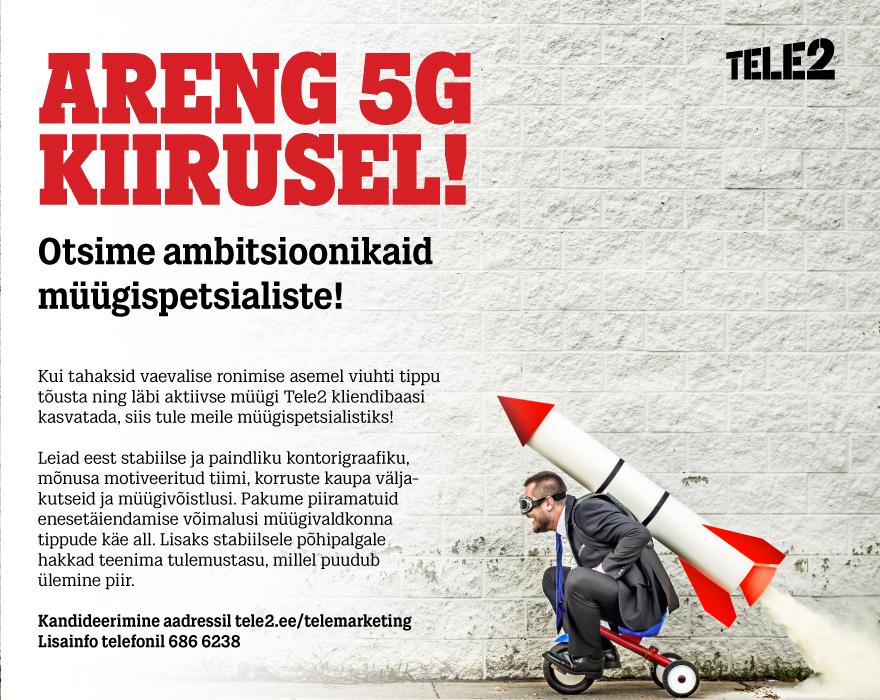Tele2 müügispetsialist