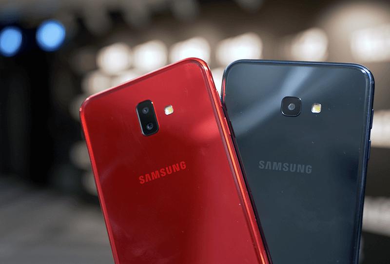 Samsung J4+ ja J6+