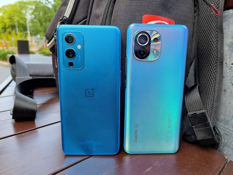 OnePlus 9 vs Xiaomi Mi 11