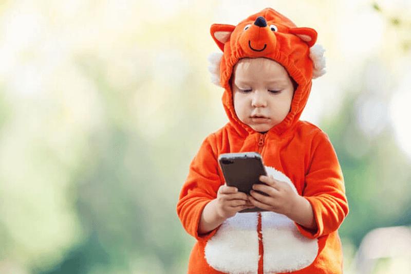 Lapse esimene telefon