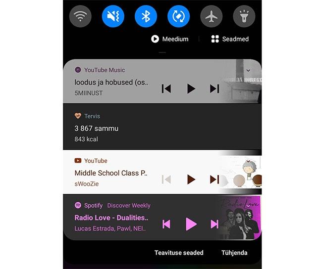 Meedia Android 10