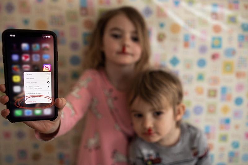 Instagram ja lapsed